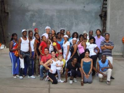 danzando con Raices Profundas, la compagnia folcklorica di Juan de Dios (gennaio 2012)