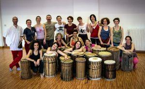 il gruppo di Suonare la Danza, edizione 2013