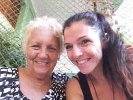 con Graciela Chao Carbonero