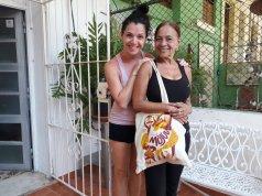 con Daisy Villalejo